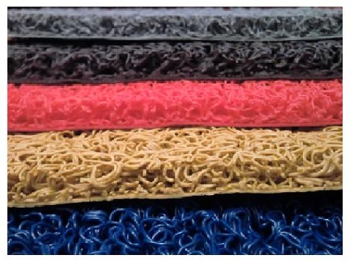 Felpudo alfombra rulo rizo tipo nomad diamantinos for Todo tipo de alfombras
