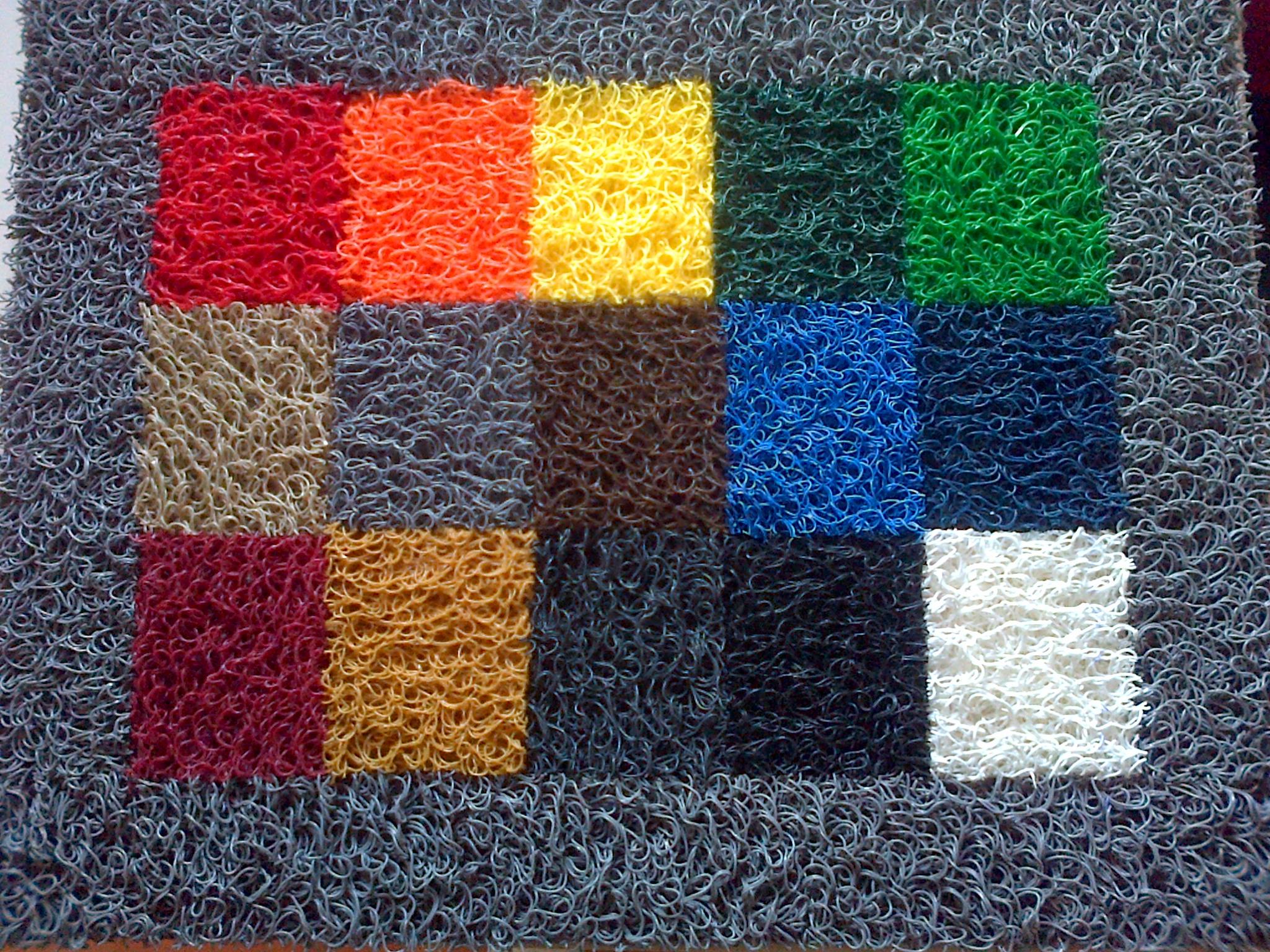 Felpudos alfombras rizos rulos alto transito diamantinos for Tipos de alfombras