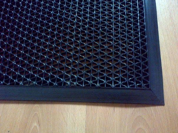 Felpudo alfombra antideslizante antifatiga z diamantinos - Alfombras para entrada de casa ...