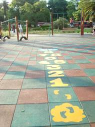 """Baldosas Antigolpes """"Parques Infantiles – Niños – Colegios – Escuelas"""""""