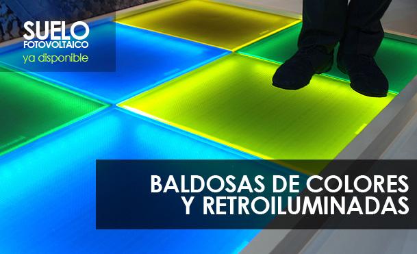 Baldosas de Colores Fotovoltaicas Retroalimentadas