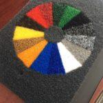 Felpudos Lluvia Manal - Colores y Borde Pvc