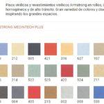 Colores Pisos Diamantinos Armstrong Medintech Plus